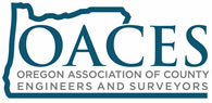 Oregon Association of County Engineers & Surveyors Logo